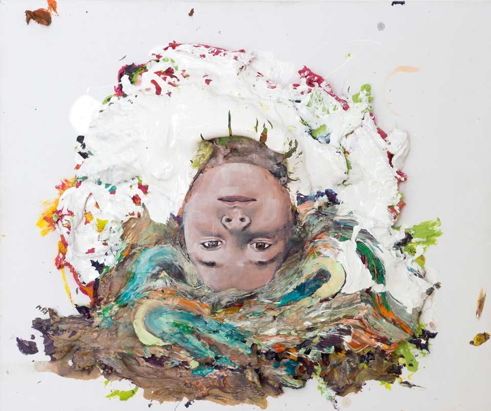 Robert Ritter abstraktno slikarstvo portret