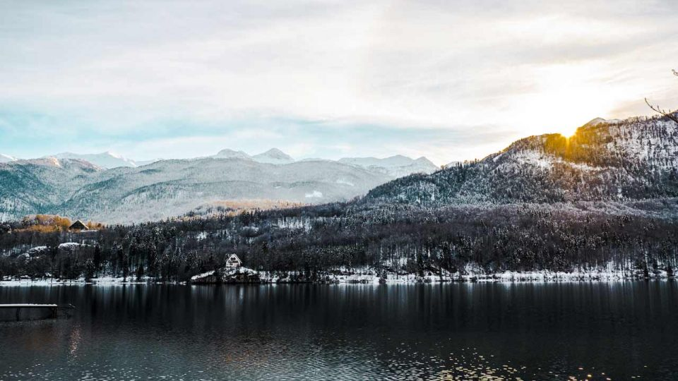 Fotografija Bohinjskega jezera