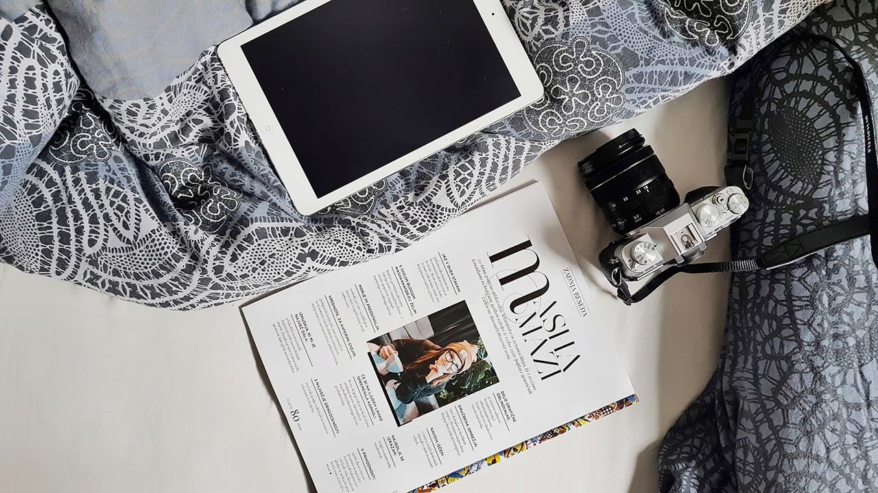 Masha Mazi Gloss revija intervju