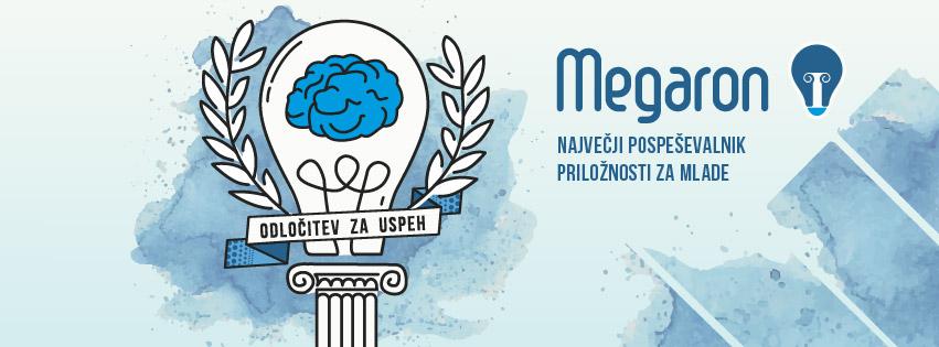 Masha Mazi grafično oblikovanje Megaron