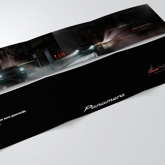 Masha Mazi vabilo Porsche Panamera