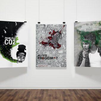 Masha Mazi grafično oblikovanje