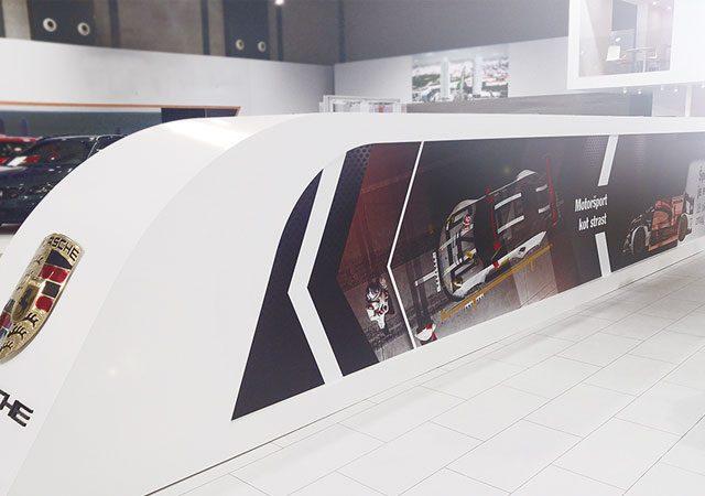 Masha Mazi Porsche Center Ljubljana avtosalon