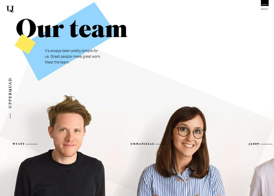 Upperquad oblikovanje spletnih strani