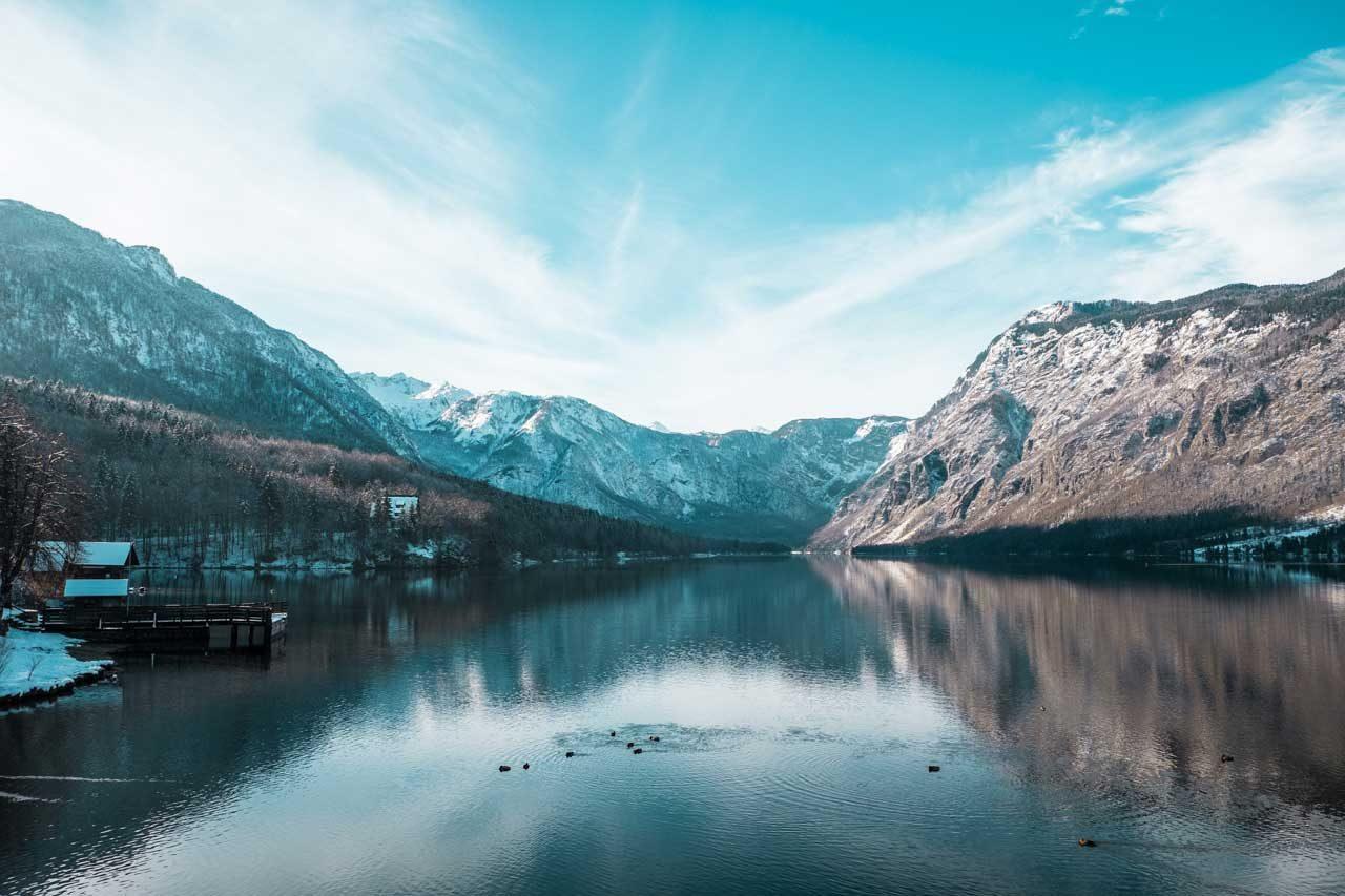 Maša Mazi Bohinjsko jezero