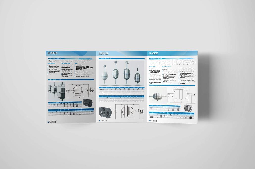Grafično oblikovanje prodajne brošure