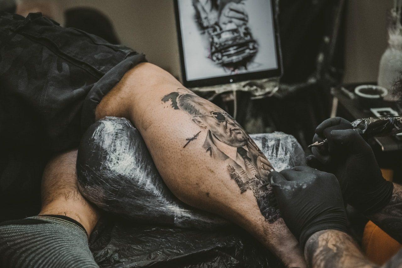 Tetoviranje koža zgodovina tatuji