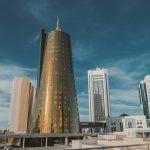 Foto potopis Astana Kazahstan Dubaj centralne Azije