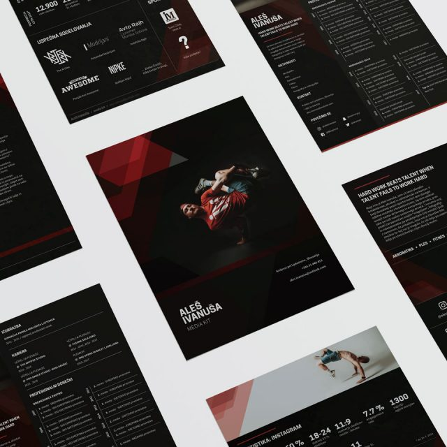 Aleš Ivanuša branding influencer media kit