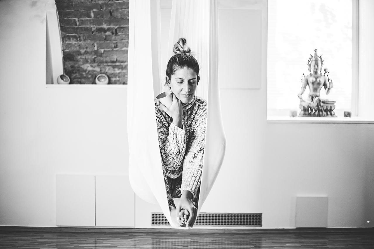 Masha Mazi in gostujoč blog Nine Gaspari: joga, sproščanje, skrb zase