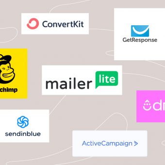 Razlini e-mail marketing sistemi: Mailerlite, mailchimp, convertkit, ...
